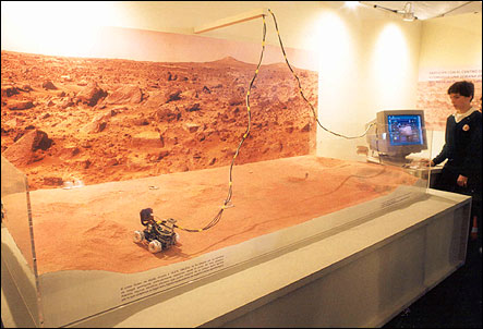 Planet Mars Diorama - Pics about space